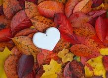 Декоративное handmade сердце Стоковая Фотография RF