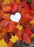 Декоративное handmade сердце Стоковое Изображение RF