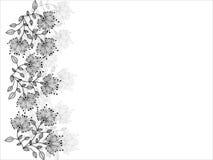 декоративно картина цветка иллюстрация вектора