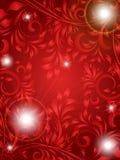 декоративно флористическая иллюстрация иллюстрация штока