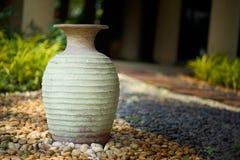 Декоративные вазы глины Стоковые Изображения
