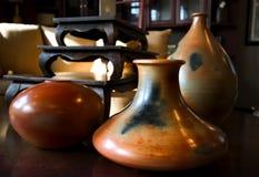 декоративные вазы Стоковое Фото