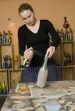 декоративные детали руки сделали мастерскую Стоковые Фотографии RF