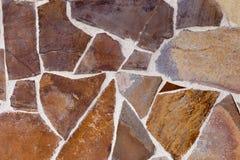 Декоративные камни различных форм камень предпосылки детальный реальный очень Стоковое Изображение