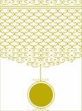 декоративные картины золота Стоковое Фото