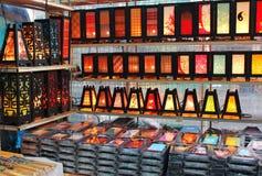 декоративные лампы Стоковые Фотографии RF