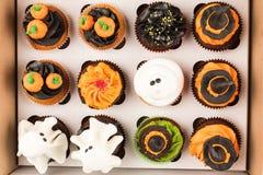 Декоративные пирожные хеллоуина Стоковые Изображения RF