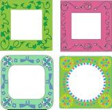 декоративные рамки Стоковые Фотографии RF