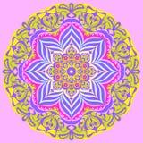 Декоративные розетки, цветки стоковые изображения rf