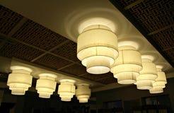 декоративные света Стоковые Изображения