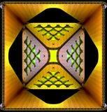 Декоративные светлые абстрактные предпосылки иллюстрация 3d Стоковые Фотографии RF