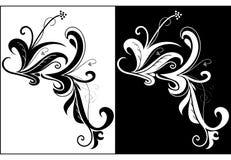декоративные свирли Стоковые Изображения RF