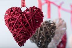 Декоративные сердца Валентайн Стоковое фото RF