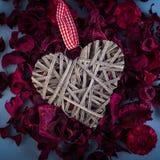 Декоративные сердца Валентайн Стоковое Фото