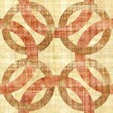 Декоративные смешанные круги - безшовная предпосылка иллюстрация вектора