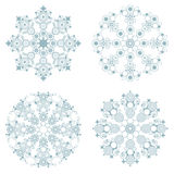 декоративные снежинки Стоковая Фотография RF