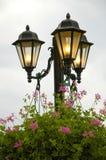 декоративные уличные светы Стоковая Фотография