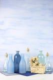 Декоративные установленные бутылки Стоковые Изображения RF