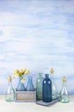 Декоративные установленные бутылки Стоковые Изображения
