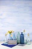 Декоративные установленные бутылки Стоковая Фотография RF