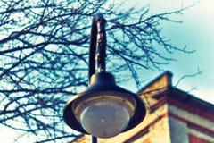 Декоративные уличные светы 018 Стоковые Фотографии RF
