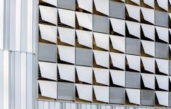 Декоративные элементы от немножко раскрытых квадратов внешней отделк стоковые изображения