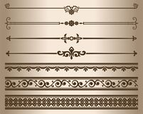 декоративные элементы иллюстрация вектора