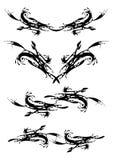декоративные элементы Стоковое Изображение RF