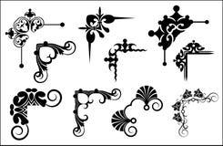 декоративные элементы Стоковые Изображения RF