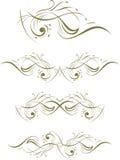 Декоративные элементы Стоковое Фото