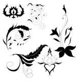 Декоративные элементы Иллюстрация штока