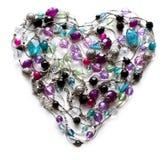 декоративные ювелирные изделия сердца Стоковое Изображение RF