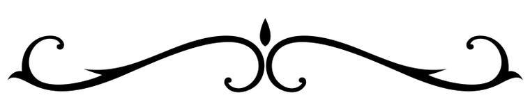 декоративный вектор правила Стоковые Фотографии RF