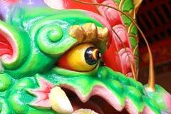 Декоративный гипсолит a головы дракона Стоковая Фотография RF