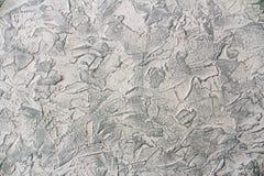 Декоративный гипсолит приложил к стене и покрашенный стоковые фотографии rf