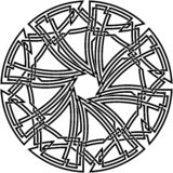Декоративный кельтский узел Стоковые Фото