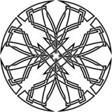 Декоративный кельтский узел Стоковое Изображение RF