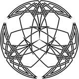 Декоративный кельтский узел Стоковое фото RF