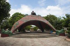 Декоративный киоск в парке Bernabela Ramos в Santa Cruz, Косте Ri стоковая фотография rf