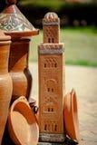 Декоративный малый замок Стоковые Фото