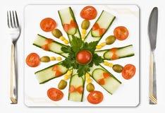 декоративный обед Стоковая Фотография RF