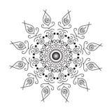 ( Декоративный орнамент в этническом восточном стиле Расцветка бесплатная иллюстрация