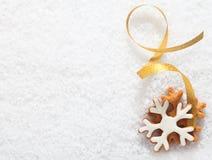 Декоративный орнамент печенья рождества Стоковое Фото