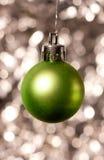 Декоративный орнамент рождества Стоковые Фотографии RF