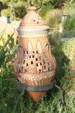 Декоративный орнамент сада терракоты Стоковые Изображения RF
