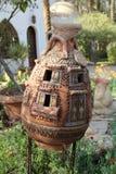 Декоративный орнамент сада терракоты Стоковые Фотографии RF