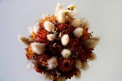 Декоративный орнамент цветков и изображение птенеца Стоковые Фото
