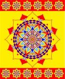 Декоративный орнамент иллюстрация штока