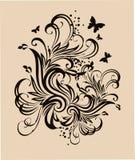 декоративный орнамент Стоковое Изображение