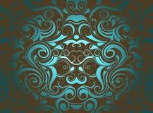 декоративный орнамент Стоковая Фотография RF